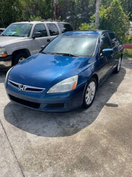 2006 Honda Accord for sale at Brevard Auto Sales in Palm Bay FL