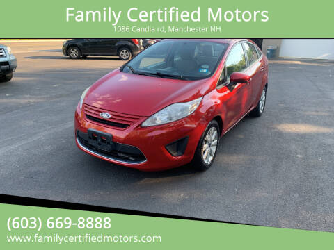 2011 Ford Fiesta for sale at Family Certified Motors in Manchester NH