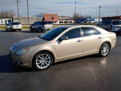 2008 Chevrolet Malibu for sale at Big Boys Auto Sales in Russellville KY