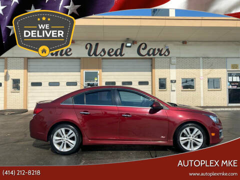 2015 Chevrolet Cruze for sale at Autoplexmkewi in Milwaukee WI
