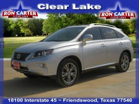 2013 Lexus RX 350 for sale at Ron Carter  Clear Lake Used Cars in Houston TX