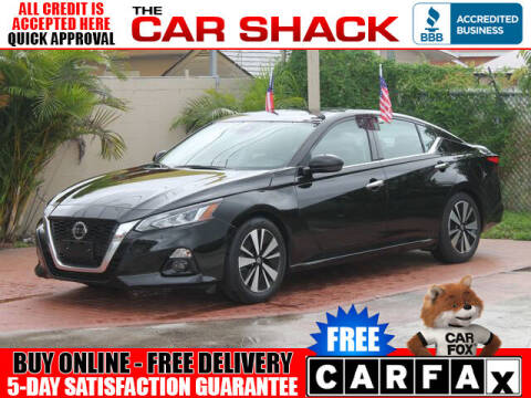 2019 Nissan Altima for sale at The Car Shack in Hialeah FL