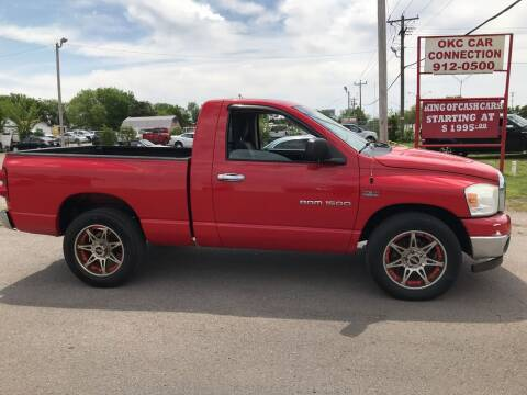 2007 Dodge Ram Pickup 1500 for sale at OKC CAR CONNECTION in Oklahoma City OK