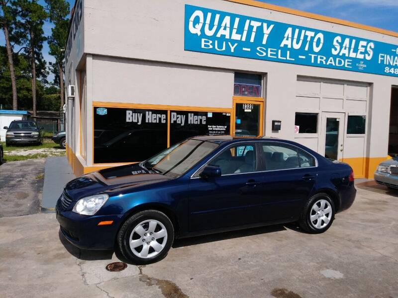 2008 Kia Optima for sale at QUALITY AUTO SALES OF FLORIDA in New Port Richey FL