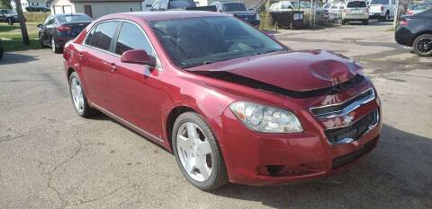 2009 Chevrolet Malibu for sale at Cars & Pieces LLC in Connersville IN