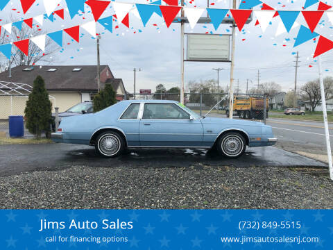 1983 Chrysler Imperial for sale at Jims Auto Sales in Lakehurst NJ