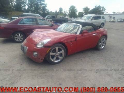 2006 Pontiac Solstice for sale at East Coast Auto Source Inc. in Bedford VA