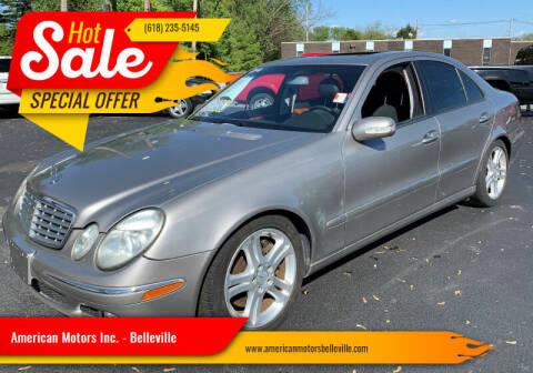 2004 Mercedes-Benz E-Class for sale at American Motors Inc. - Belleville in Belleville IL