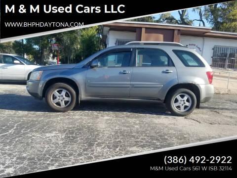 2006 Pontiac Torrent for sale at M & M Used Cars LLC in Daytona Beach FL