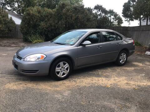2006 Chevrolet Impala for sale at Elwan Motors in West Long Branch NJ