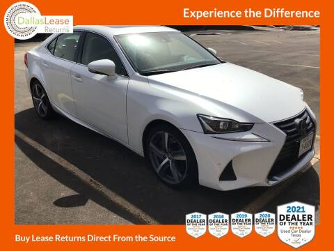 2018 Lexus IS 300 for sale at Dallas Auto Finance in Dallas TX