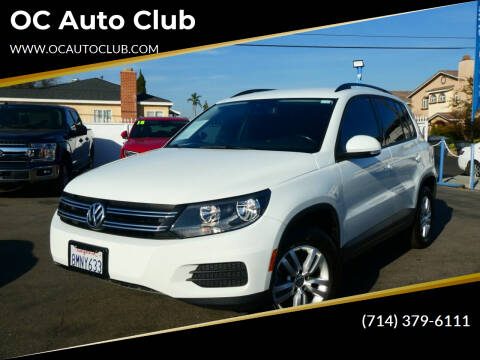 2016 Volkswagen Tiguan for sale at OC Auto Club in Midway City CA