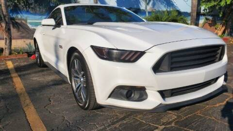 2016 Ford Mustang for sale at ADVANTAGE AUTO SALES INC in Bell CA
