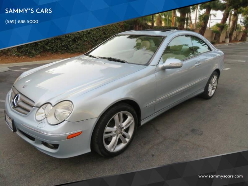 "2008 Mercedes-Benz CLK for sale at SAMMY""S CARS in Bellflower CA"