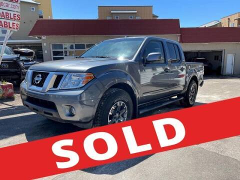 2019 Nissan Frontier for sale at ELITE MOTOR CARS OF MIAMI in Miami FL
