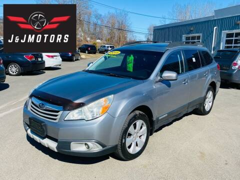 2011 Subaru Outback for sale at J & J MOTORS in New Milford CT