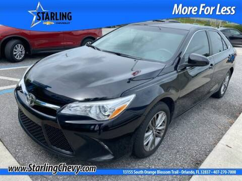 2017 Toyota Camry for sale at Pedro @ Starling Chevrolet in Orlando FL