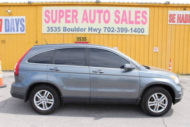 2011 Honda CR-V for sale at Super Auto Sales in Las Vegas NV