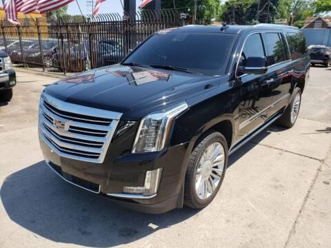 2016 Cadillac Escalade ESV for sale at Gus's Used Auto Sales in Detroit MI