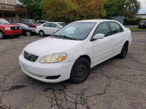 2007 Toyota Corolla for sale at USA AUTO WHOLESALE LLC in Cleveland OH