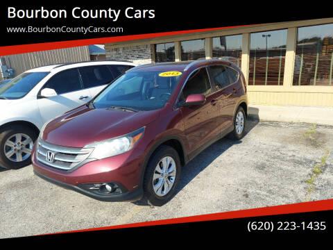 2013 Honda CR-V for sale at Bourbon County Cars in Fort Scott KS
