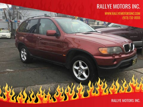 2002 BMW X5 for sale at Rallye  Motors inc. in Newark NJ