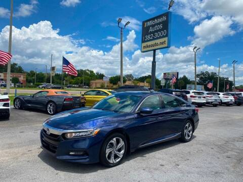 2018 Honda Accord for sale at Michaels Autos in Orlando FL