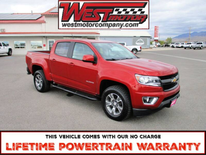 2016 Chevrolet Colorado for sale at West Motor Company in Hyde Park UT