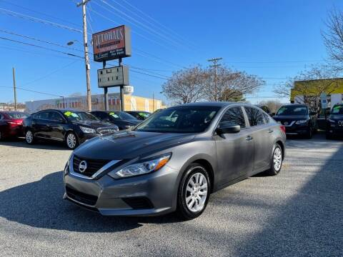 2018 Nissan Altima for sale at Autohaus of Greensboro in Greensboro NC