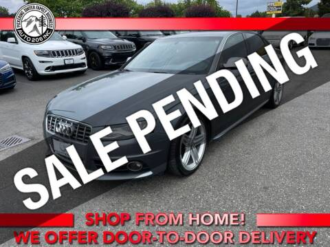 2012 Audi S4 for sale at Auto 206, Inc. in Kent WA