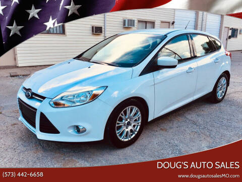 2012 Ford Focus for sale at Doug's Auto Sales in Columbia MO