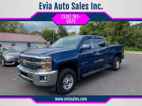2015 Chevrolet Silverado 2500HD for sale at Evia Auto Sales Inc. in Glens Falls NY