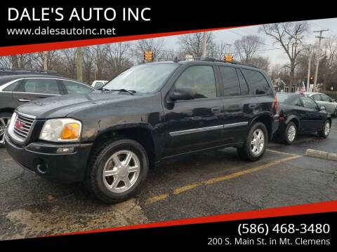2008 GMC Envoy for sale at DALE'S AUTO INC in Mt Clemens MI