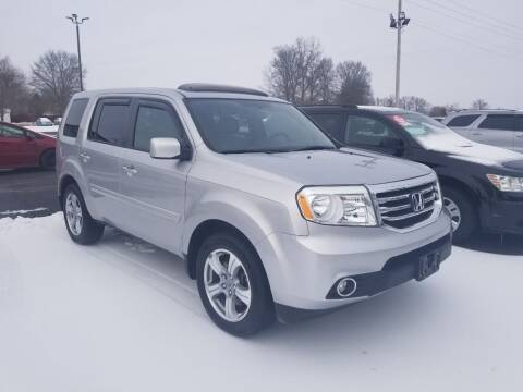 2015 Honda Pilot for sale at Ridgeway's Auto Sales in West Frankfort IL