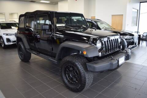2017 Jeep Wrangler Unlimited for sale at BMW OF NEWPORT in Middletown RI