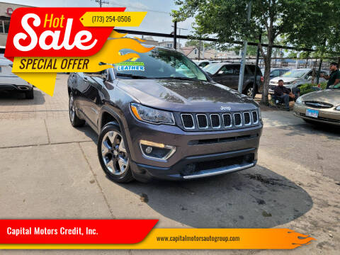 2020 Jeep Compass for sale at Capital Motors Credit, Inc. in Chicago IL