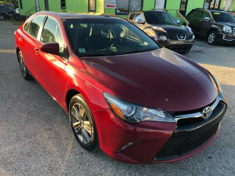 2017 Toyota Camry for sale at Marvin Motors in Kissimmee FL