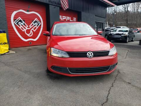 2012 Volkswagen Jetta for sale at Apple Auto Sales Inc in Camillus NY