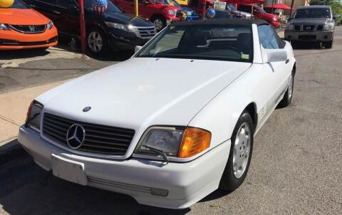 1991 Mercedes-Benz 500-Class for sale at White River Auto Sales in New Rochelle NY