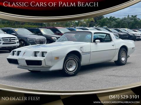 1981 Pontiac Firebird for sale at Classic Cars of Palm Beach in Jupiter FL