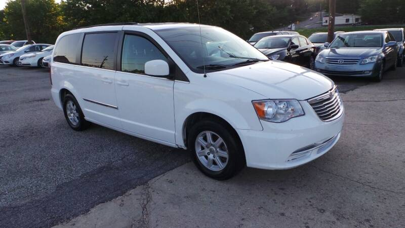 2012 Chrysler Town and Country for sale at Unlimited Auto Sales in Upper Marlboro MD