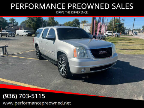 2011 GMC Yukon XL for sale at PERFORMANCE PREOWNED SALES in Conroe TX