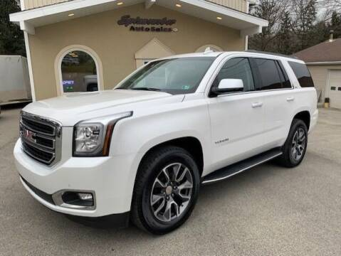 2018 GMC Yukon for sale at SPINNEWEBER AUTO SALES INC in Butler PA