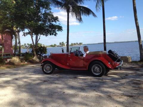 1982 MG TD for sale at Classic Car Deals in Cadillac MI