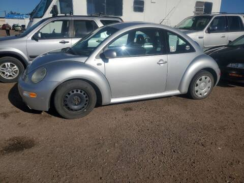 2001 Volkswagen New Beetle for sale at PYRAMID MOTORS - Fountain Lot in Fountain CO