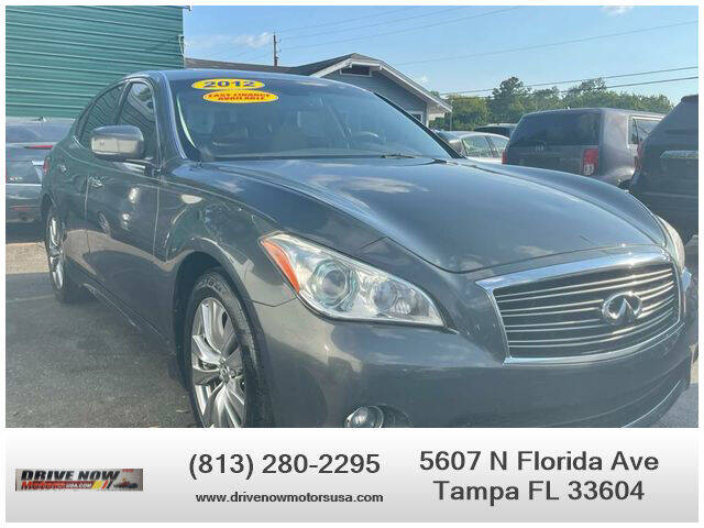 2012 Infiniti M37 for sale at Drive Now Motors USA in Tampa FL