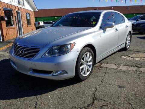 2007 Lexus LS 460 for sale at L&M Auto Import in Gastonia NC