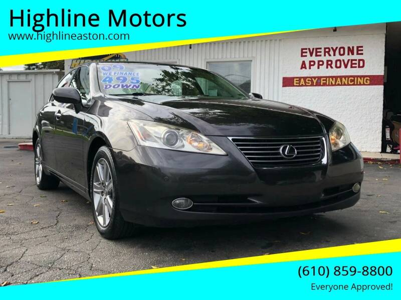 2009 Lexus ES 350 for sale at Highline Motors in Aston PA