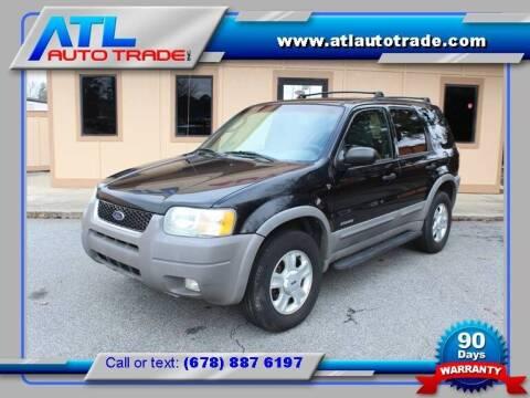 2002 Ford Escape for sale at ATL Auto Trade, Inc. in Stone Mountain GA
