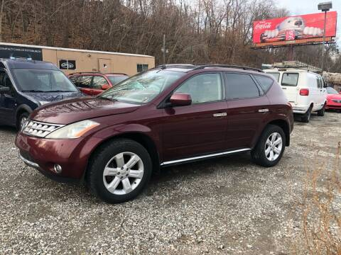 2006 Nissan Murano for sale at Compact Cars of Pittsburgh in Pittsburgh PA
